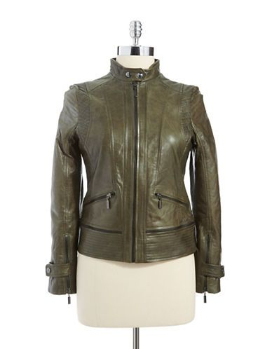 Women's Apparel | Leather & Fur | Leather Jacket | Lord and Taylor