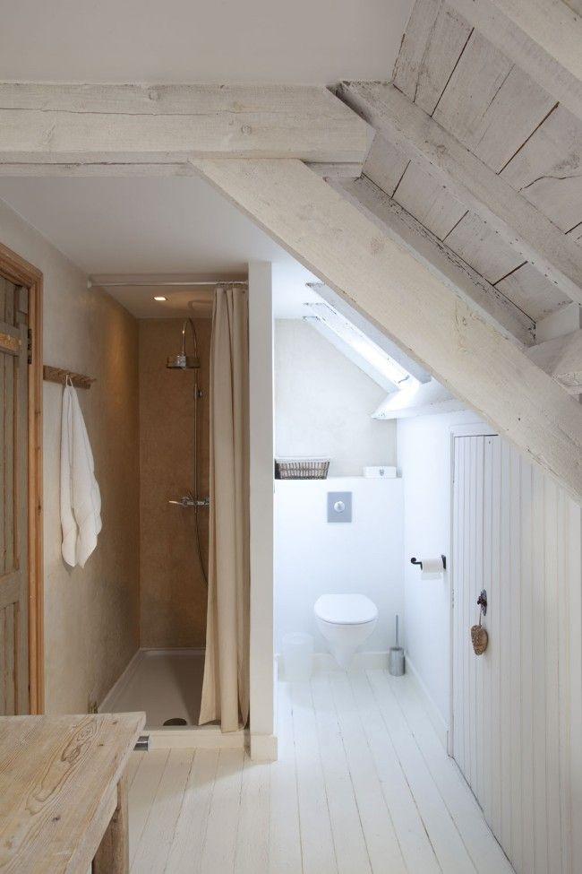 Badkamer Betonlook Hout ~ Badkamer De douchewanden zijn afgewerkt met tadelakt