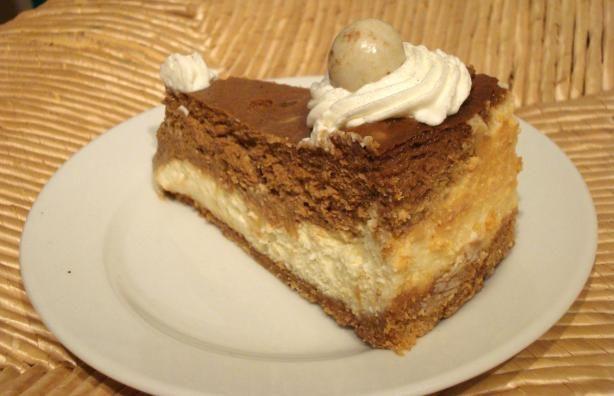 White chocolate and Espresso Cheesecake | Sweet Yummies | Pinterest