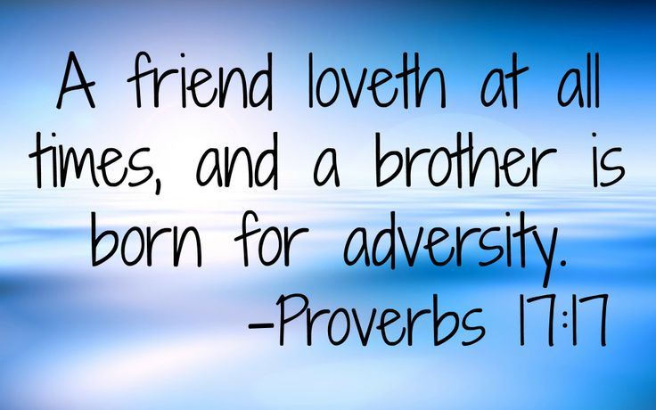 Image result for Proverbs 17:17