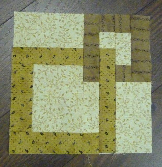 interlocking squares Cool quilt blocks Pinterest