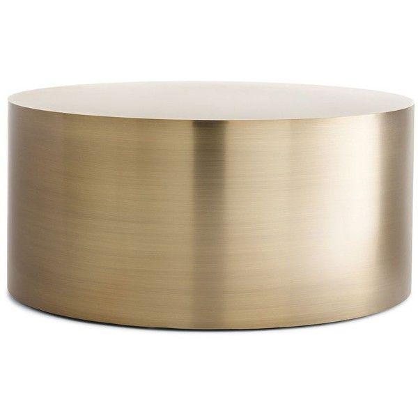 Milo Baughman Drum Coffee Table