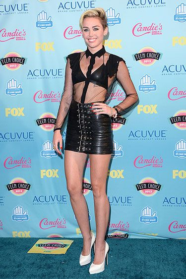 Teenage Dreams: The Best Looks at the Teen Choice Awards 2013 - Who: Miley Cyrus