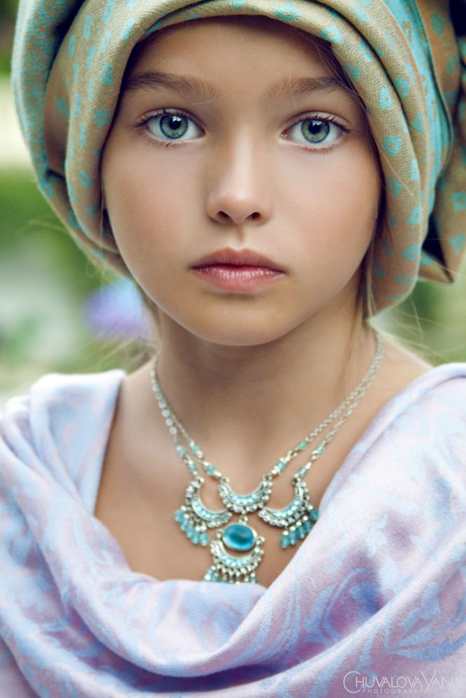 Anastasia (Russian Child Model) | About Face! | Pinterest