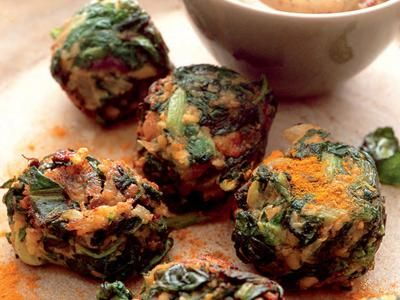 Crunchy Red Swiss Chard Falafel | Recipes | Pinterest