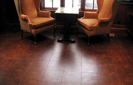 EcoDomo Recycled Leather Tiles For Flooring Wallcovering