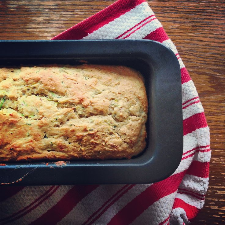 ... right now: Zucchini Hazelnut Quick Bread (and it's egg-free, too
