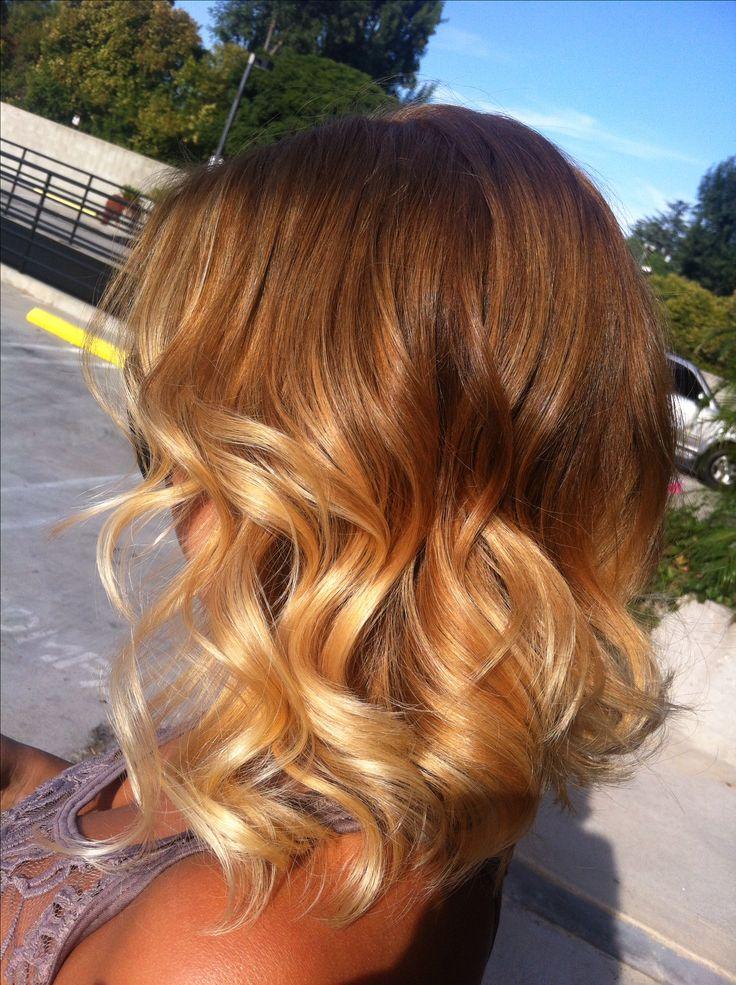 Short hair ombr 233 blonde hair style pinterest