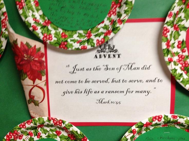 Advent bulletin board | Missy Herrington: 4th Grade | Pinterest