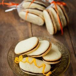 Homemade Orange Milano Cookies | Recipes to try | Pinterest