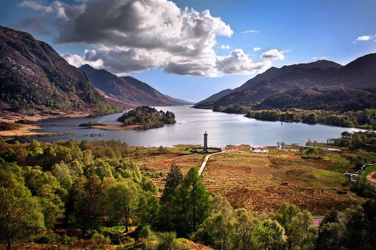 Glenfinnan United Kingdom  city photo : Glenfinnan, Scotland | United Kingdom | Pinterest