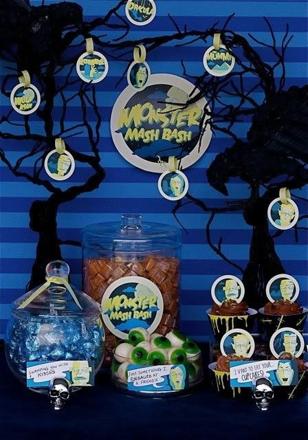 scooby doo party ideas - monster