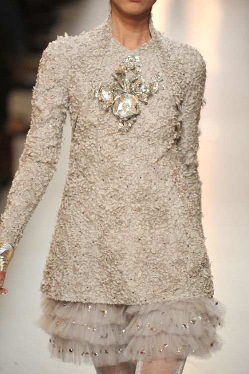 Ivory Lace Layers simply perfect - Chanel