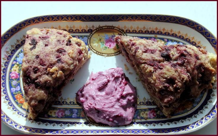 Whole Wheat Ricotta Boysenberry Scones | Bread Basket | Pinterest