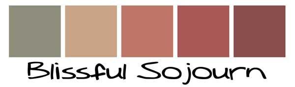 Southwest color palette paint colors pinterest for Southwest desert color palette