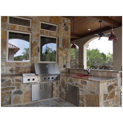 outdoor built in grill design ideas backyard pinterest