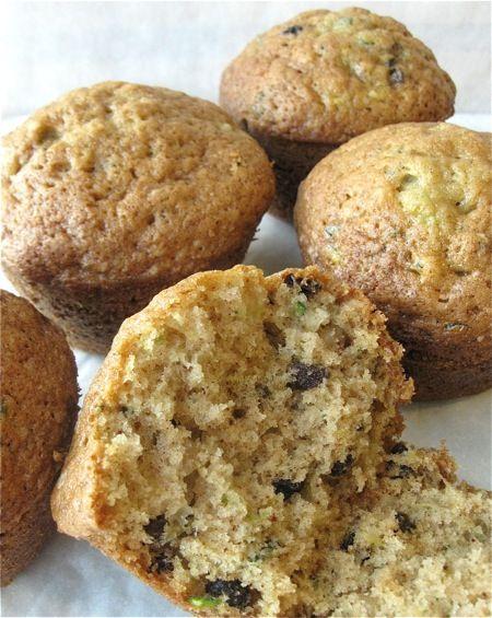 Zucchini Muffins. | Bread - Muffins & Scones | Pinterest