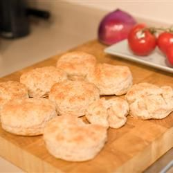 Fluffy Whole Wheat Biscuits Allrecipes.com substitute soy milk and ...