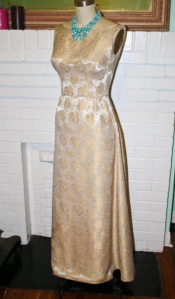 1960s Formal Dress
