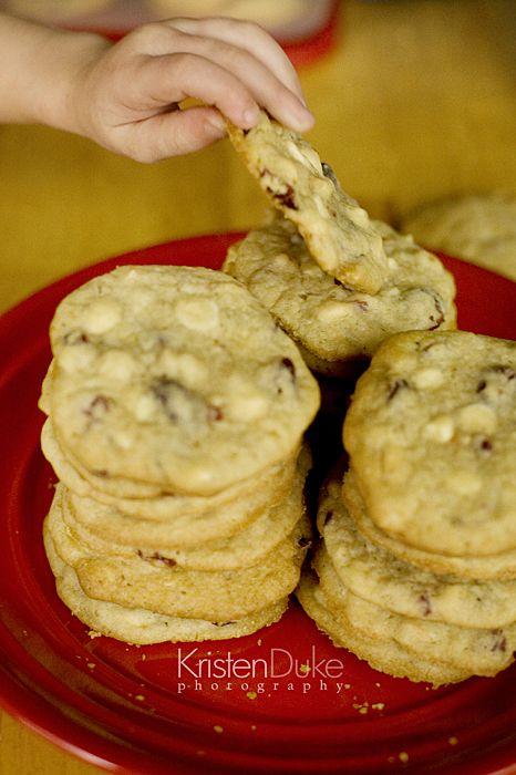 White Chocolate, Cranberry, And Macadamia Nut Cookies ...