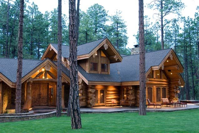 Cozy log cabin future home pinterest for Log cabin dream homes