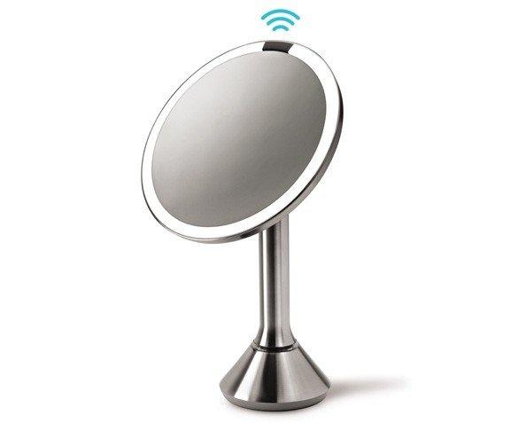 Fancy sensor mirror lighted makeup vanity mirror by for Fancy vanity mirror