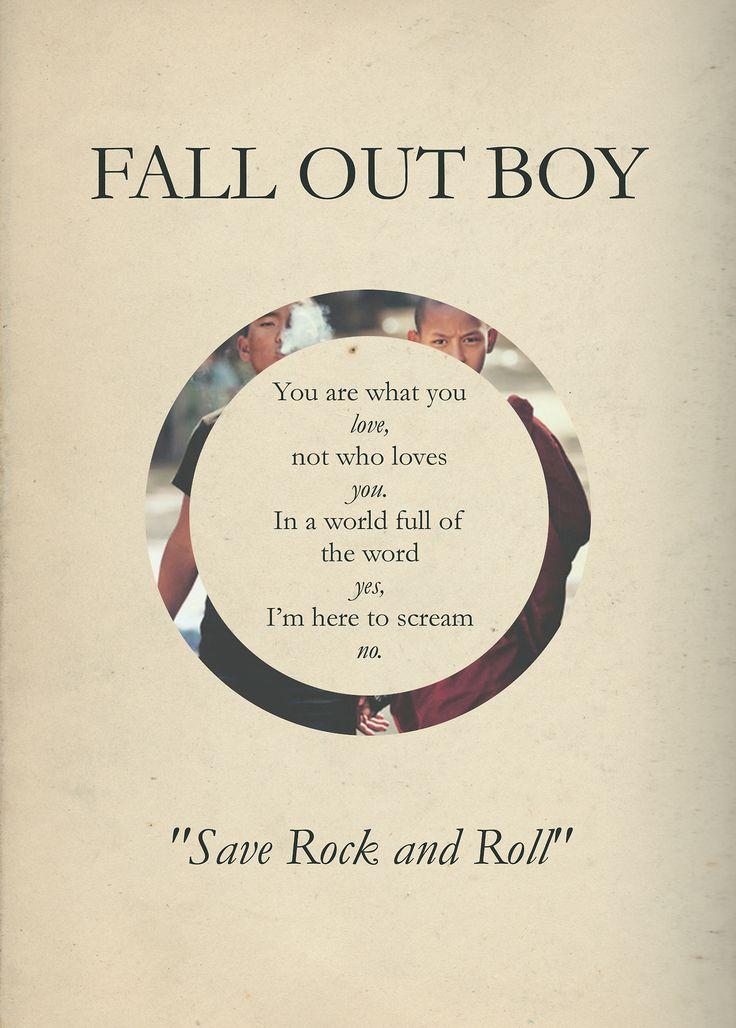 Save Rock And Roll Fall Out Boy Lyrics | www.imgkid.com ...