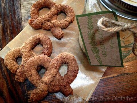 Cinnamon and Sugar Soft Pretzels | food | Pinterest
