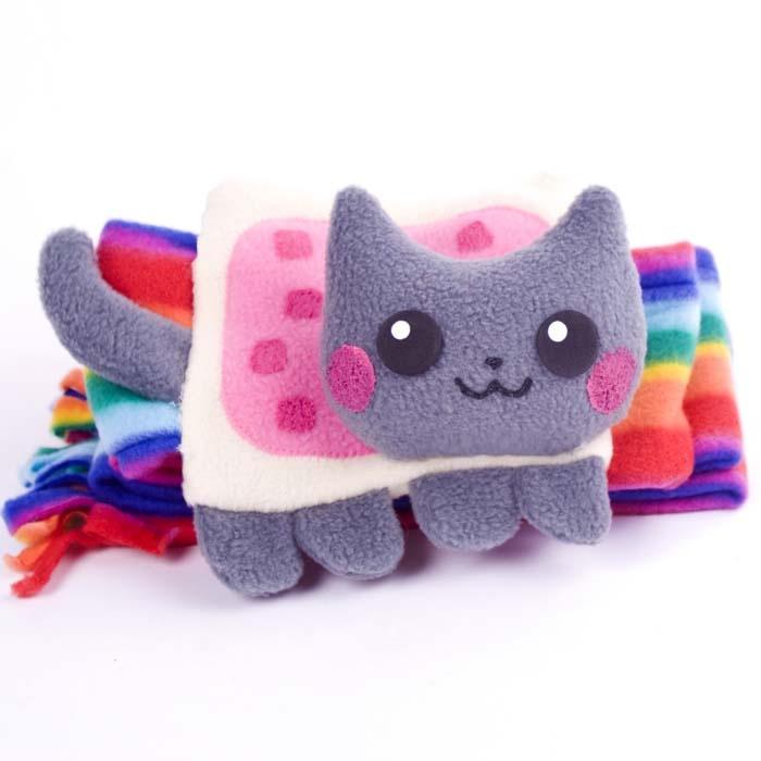 Nyan Cat Scarf Crafts - Fabrics or Yarn Pinterest