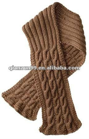 Crochet Patterns Cable Scarves Free Crochet Patterns