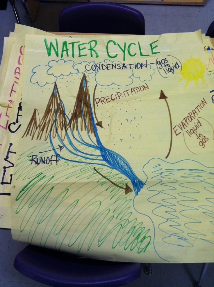 Water cycle   School Stuff   Pinterest
