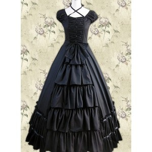 old fashioned black  corset/dress's  pinterest