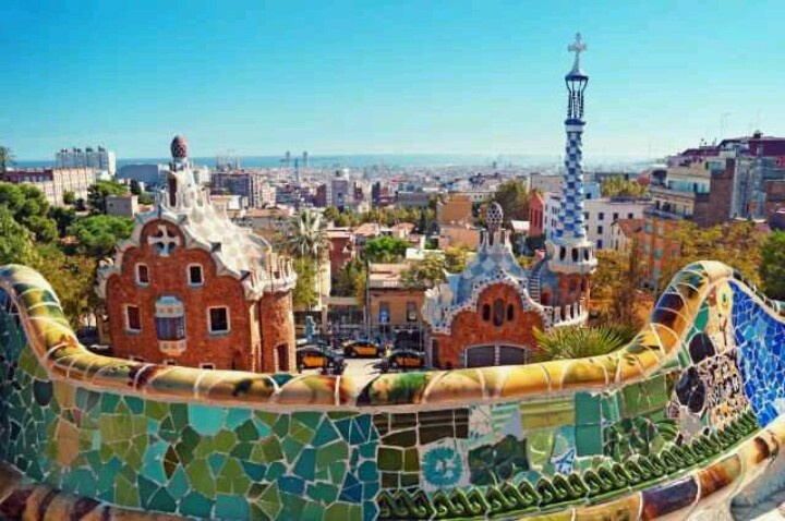 Barcelona Spain Beautiful Places Pinterest