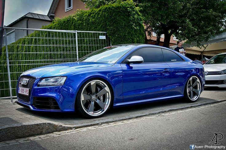 Blue Rs5 Audi A5 German Style Pinterest