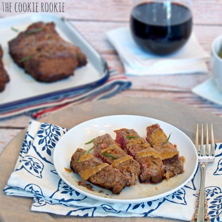 Garlic Rosemary Steak with Sherry Cream Sauce | Recipe