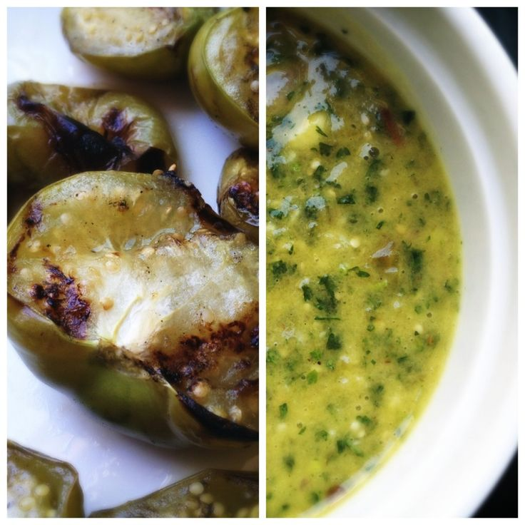 More like this: tomatillo salsa , tomatillos and grilled shrimp .