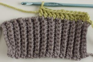 How to Create Crocheted Ribbing Knitting and Crocheting Pinterest