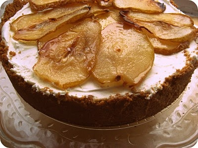Maple cheesecake with roasted pears | Life is sweet | Pinterest