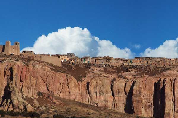 Acoma Pueblo in New Mexico. (Sky City)