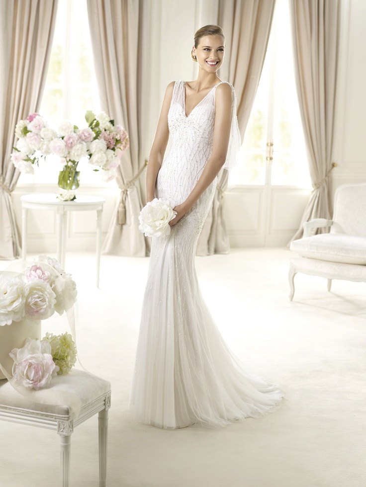 Pin by ODIVA Wedding Dresses on PRONOVIAS 2013 collection  Pinterest