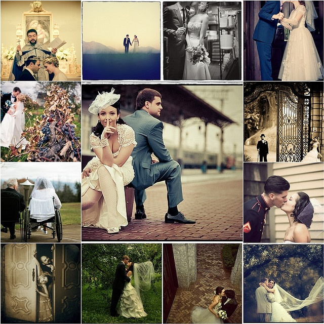 1940s Bridal Fashion Vintage Wedding Inspiration Onefabday Com
