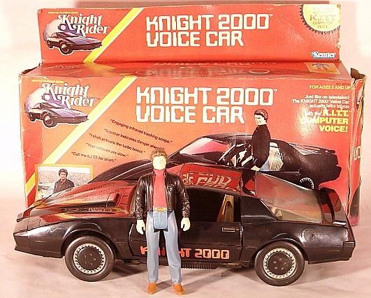 Knight Rider voice car.. both my boys had this car