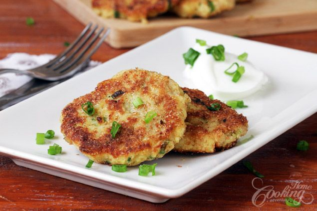 Mashed Potato Pancakes - a favorite way to use up left over mashed ...