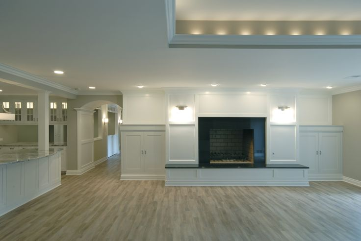low bacement with light color s basement man cave