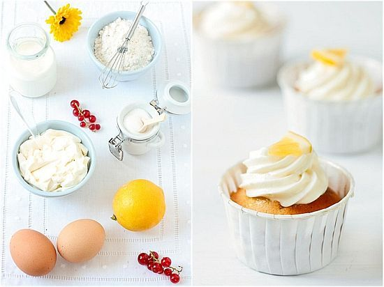 limoncello cupcakes from tartelette | Yum | Pinterest