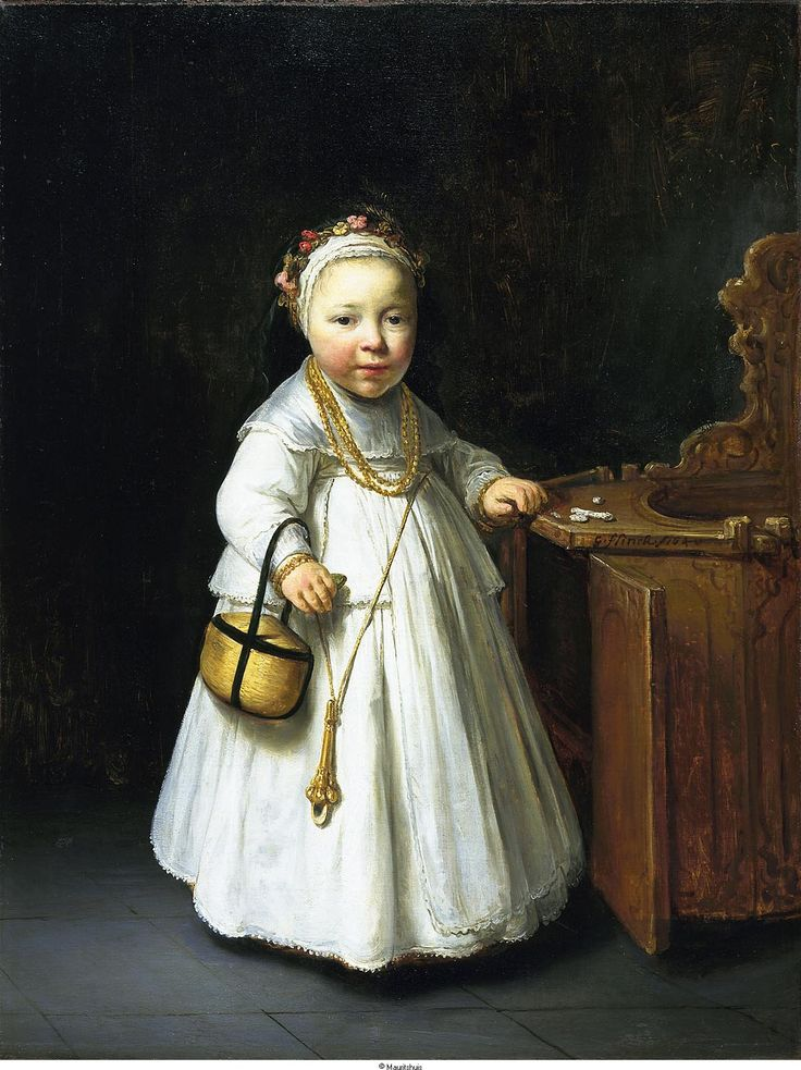 Govert Flinck, Little Girl by a High Chair, 1640 - The Hague Mauritshuis