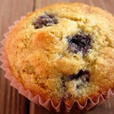 Blueberry Corn Muffins II Recipe | Sweets and Treats | Pinterest