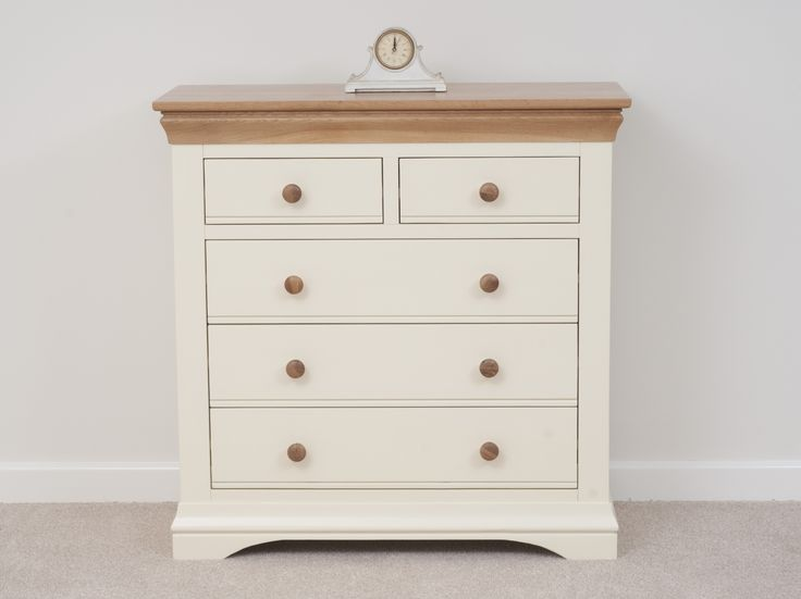 Pin by oak furniture land ofl on country cottage painted for Cream painted oak bedroom furniture