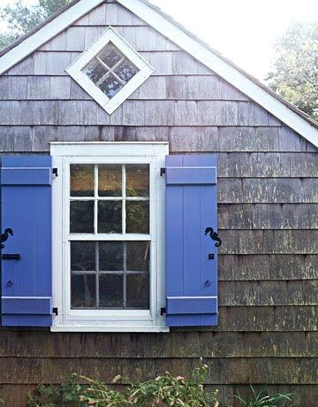 Nautical cut out shutters fribley home outdoors pinterest Exterior shutters with cut out designs