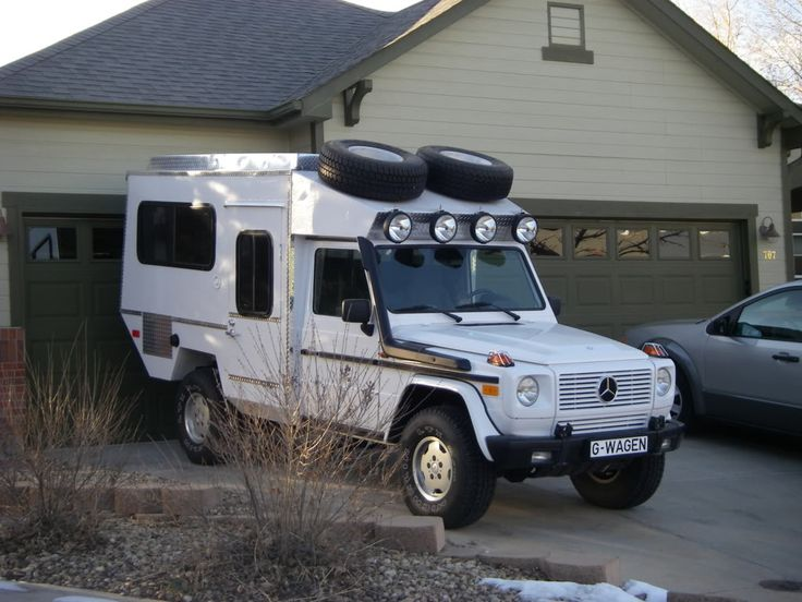 Mercedes g wagon 4x4 camper expedition cars pinterest for Mercedes benz campers